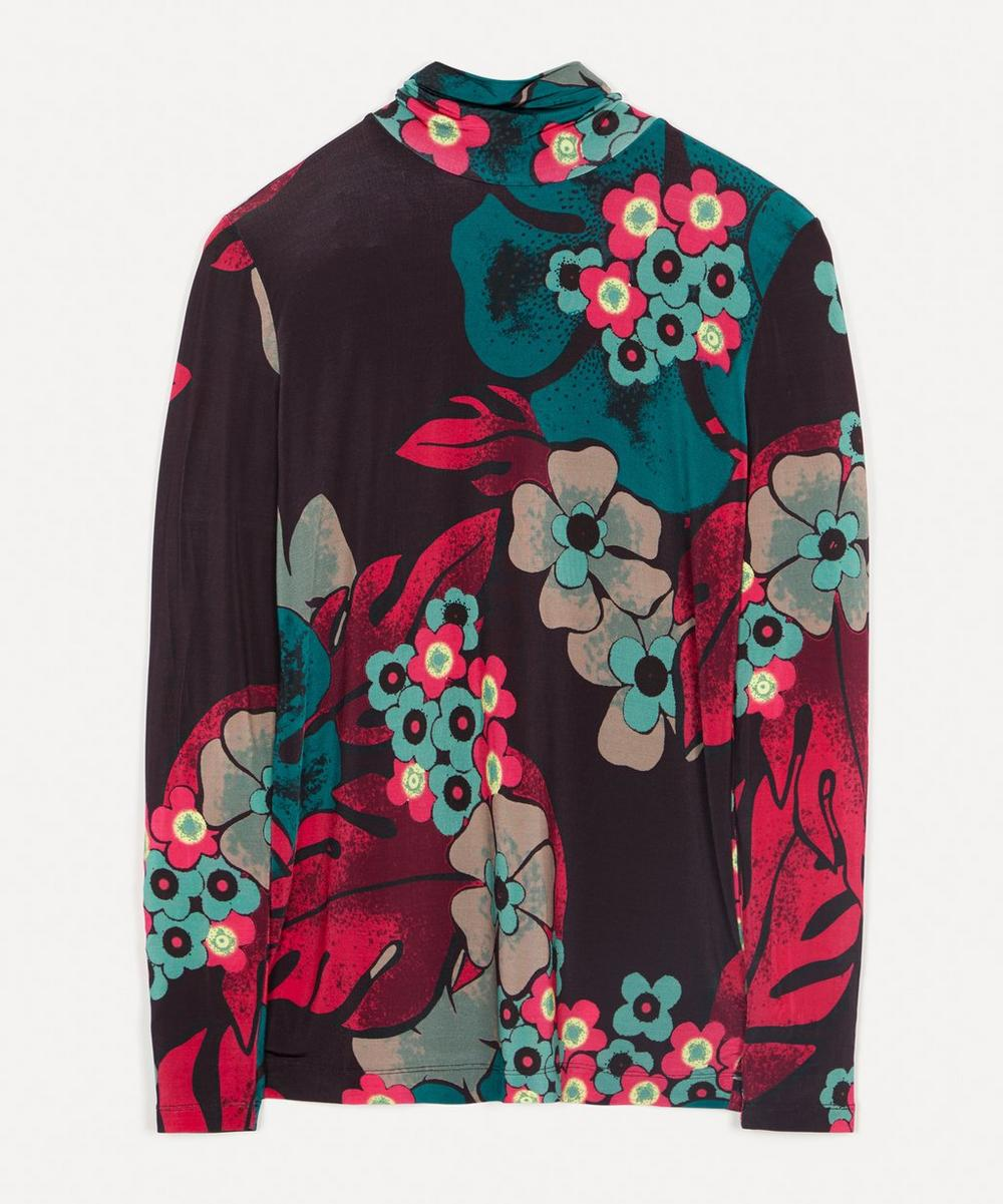 Dries Van Noten - Slim Fit Dark Floral Top
