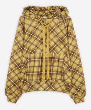 Jersey Check Hoody