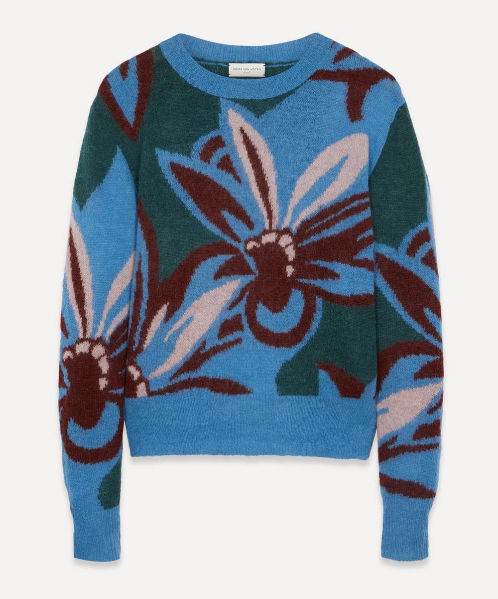 Dries Van Noten - Floral Knit Jumper