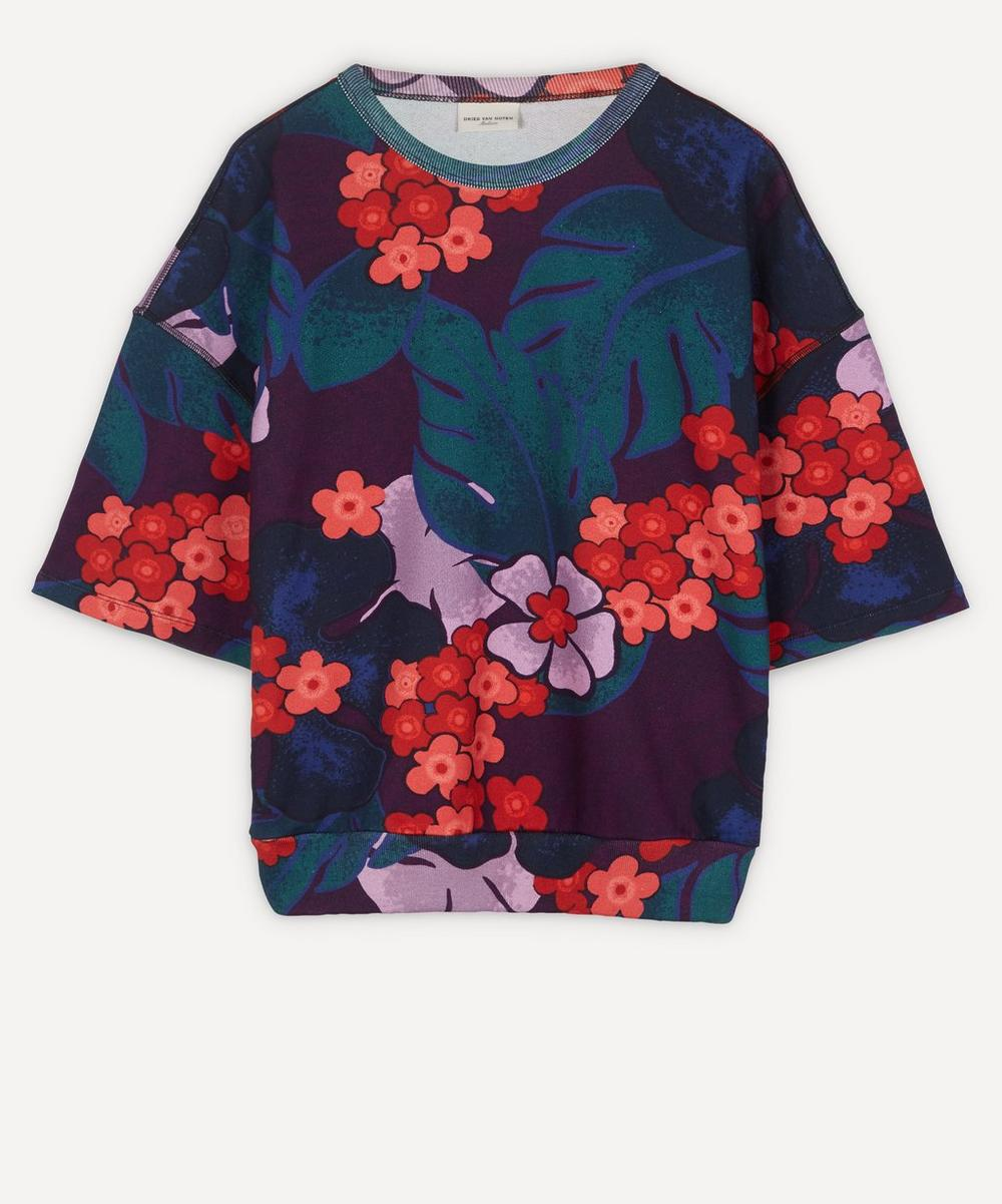 Dries Van Noten - Floral Print Short-Sleeve T-Shirt