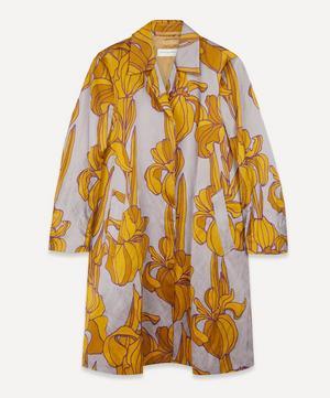 Floral Satin Coat