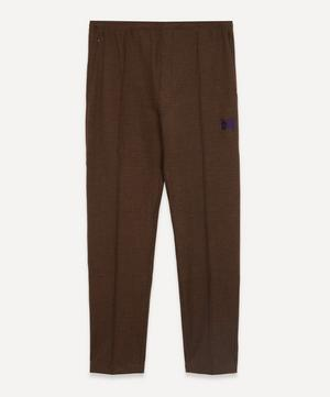 Papillon Logo-Embroidered Grain Trousers