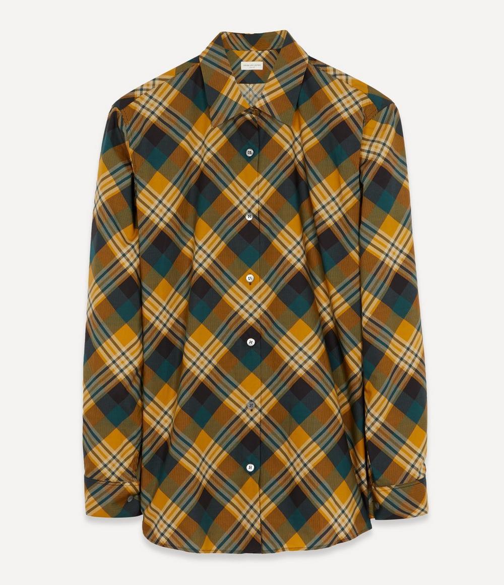 Dries Van Noten - Diamond Check Shirt