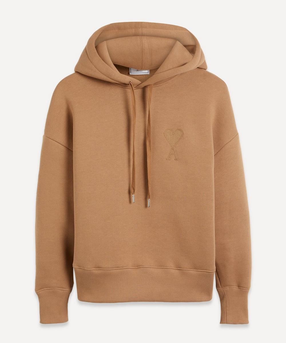 Ami - Large Logo Cotton Hoodie image number 0