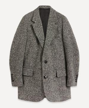 Single-Breasted Boyfriend Wool Blazer