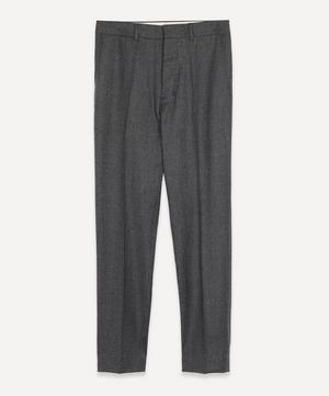 Wool Cigarette Trousers