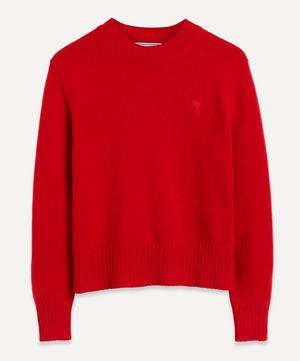 Crew-Neck Cashmere Jumper