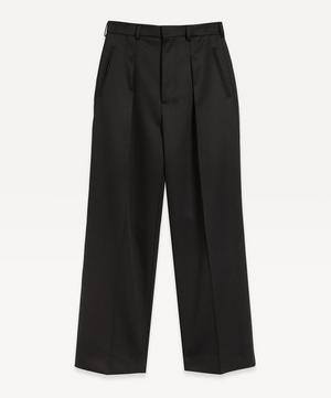 High-Waist Virgin Wool Trousers