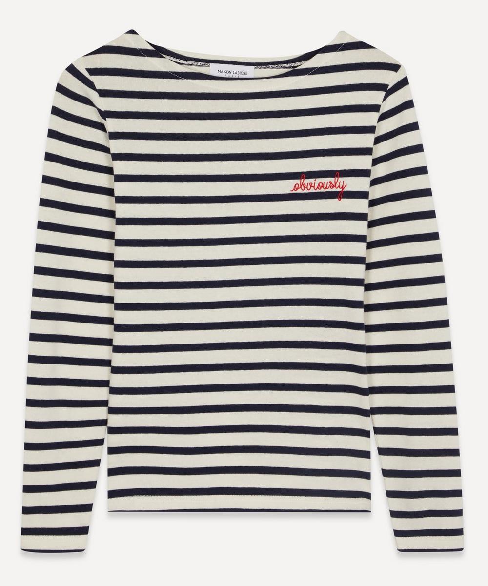 Maison Labiche - Obviously Long-Sleeve T-Shirt