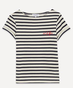 Out Of Office Striped T-Shirt