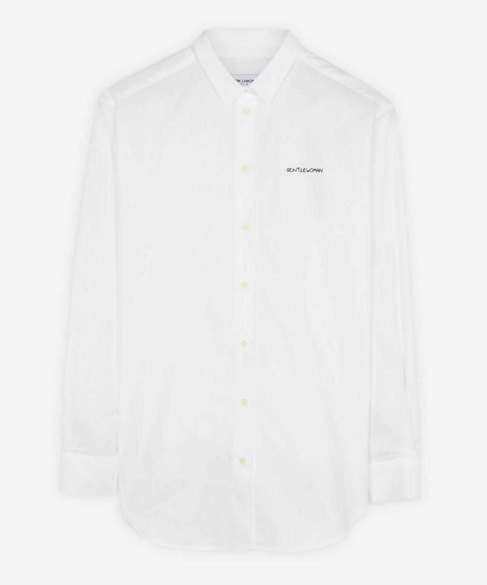 Maison Labiche - Gentlewoman Cotton Boyfriend Shirt
