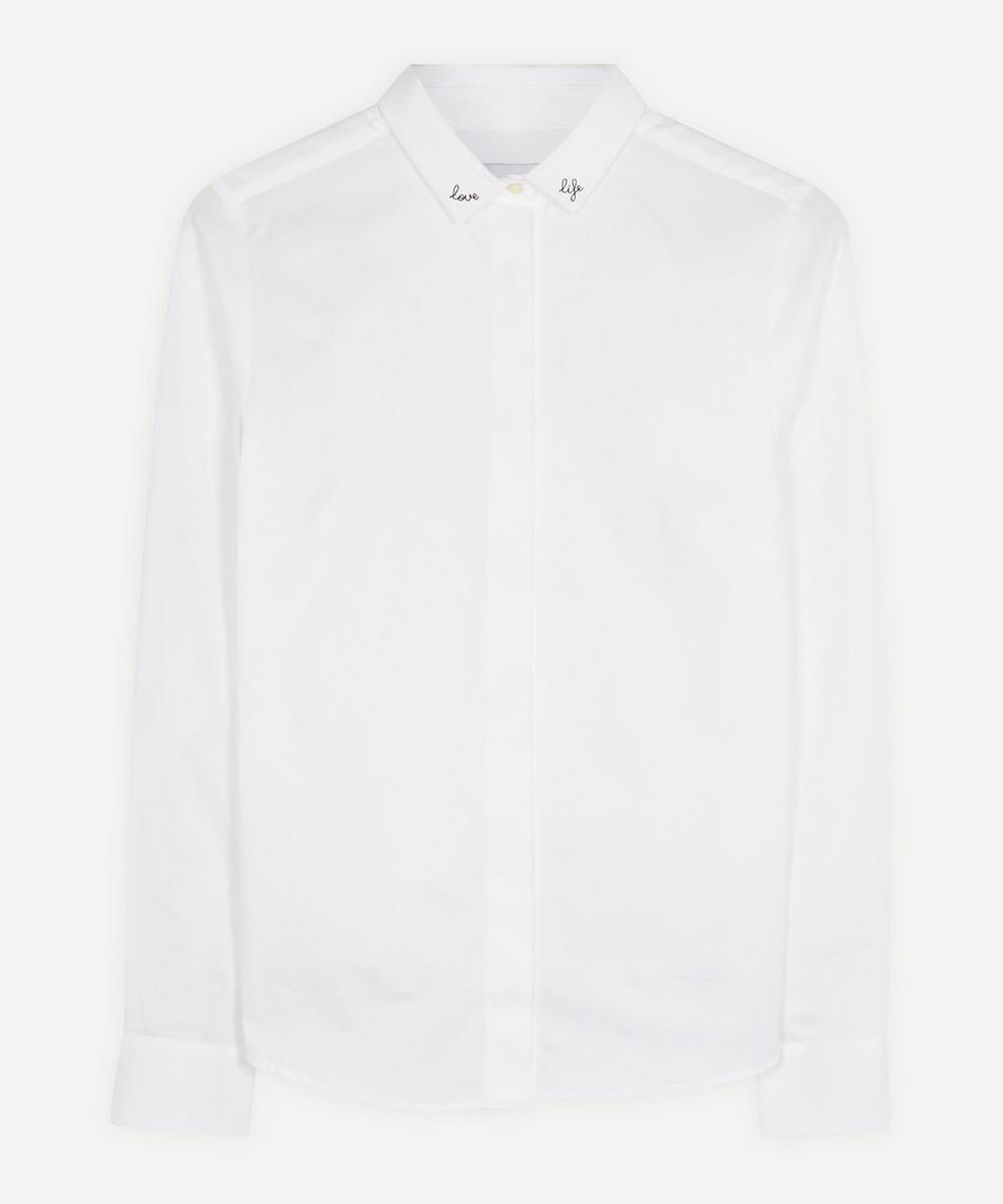 Maison Labiche - Love Life Classic Cotton Shirt