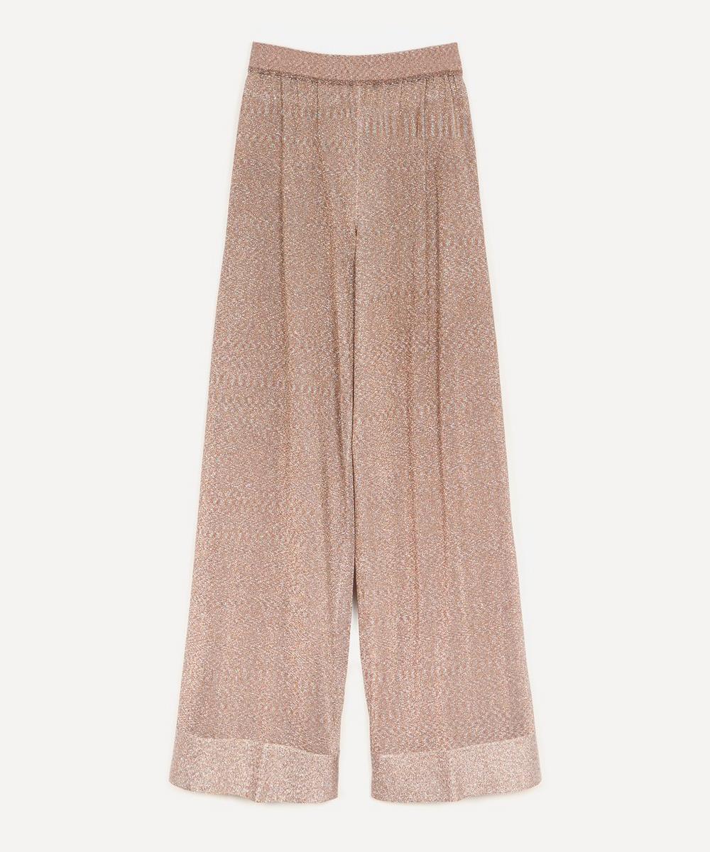 Missoni - Lurex Wide-Leg Trousers