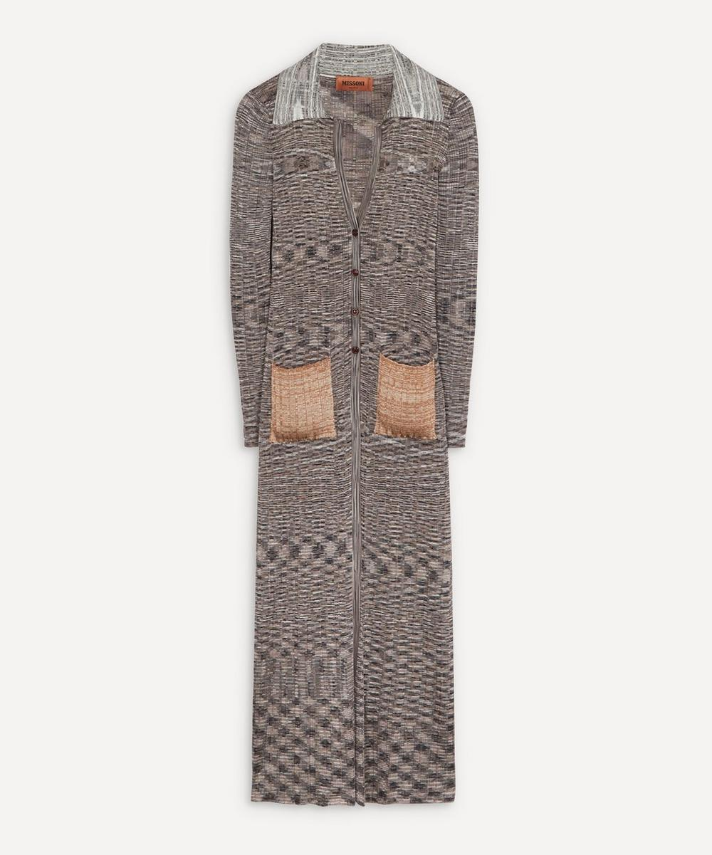 Missoni - Space-Dyed Knitted Cardigan