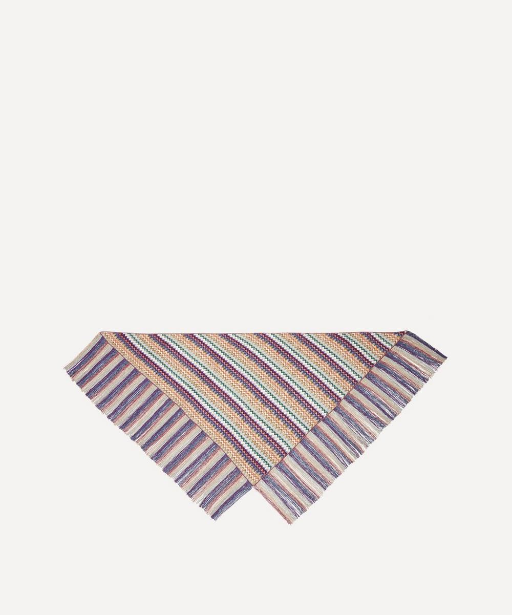 Missoni - Zig-Zag Stripe Fringed Wrap Scarf