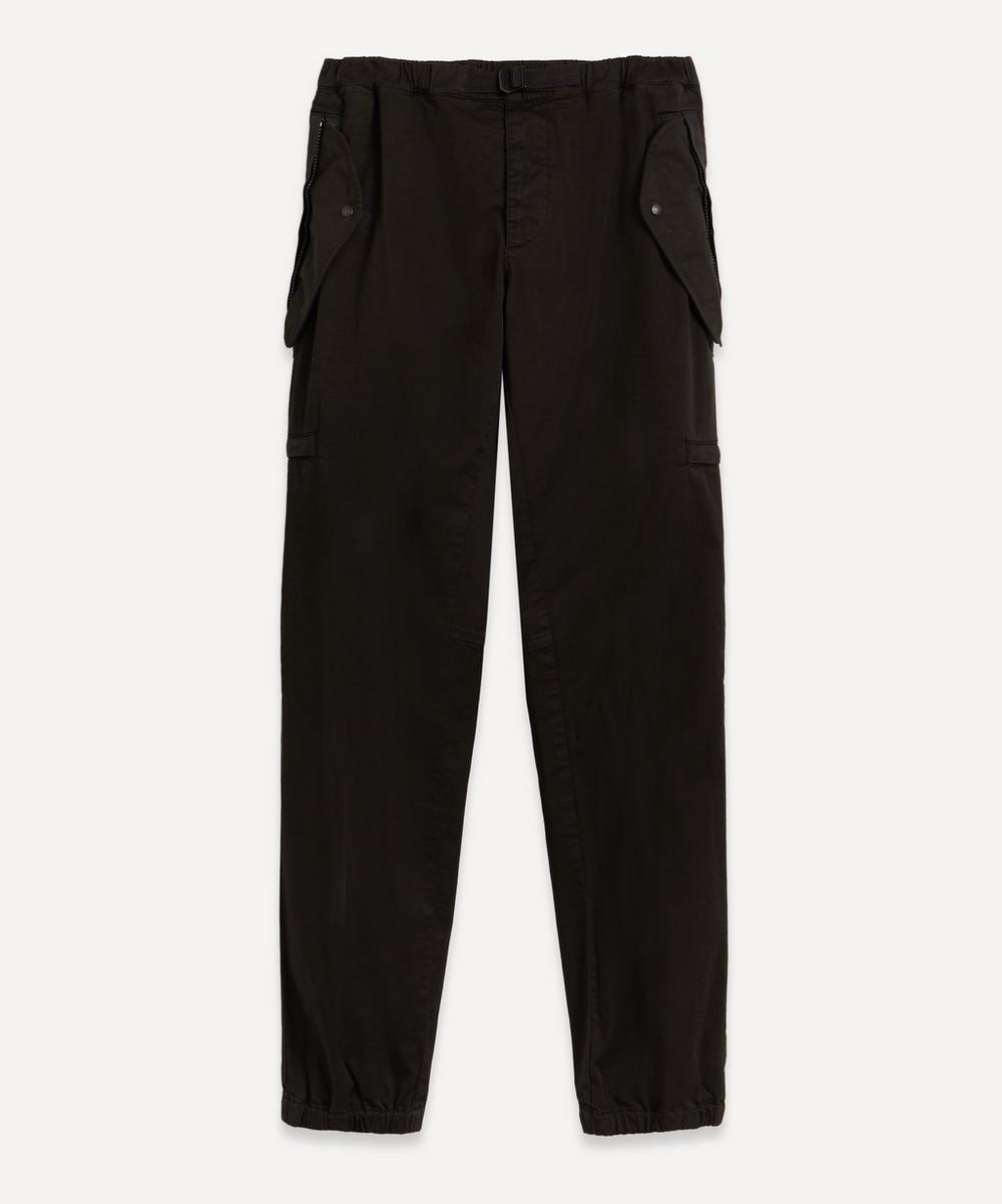 Moncler - Tapered Stretch-Cotton Twill Cargo Trousers