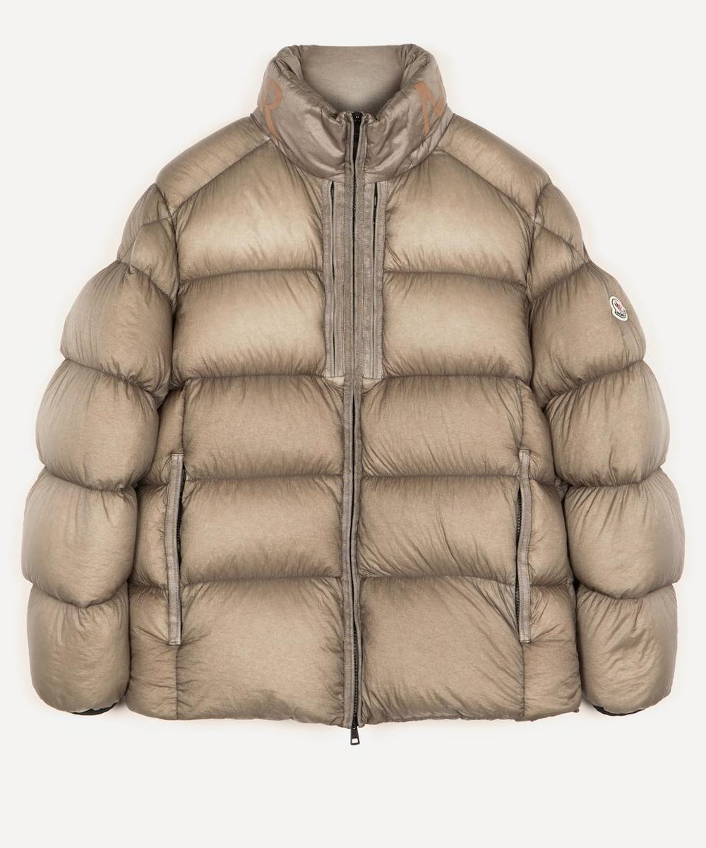 Moncler - Cevenne Garment-Dyed Quilted Shell Down Jacket