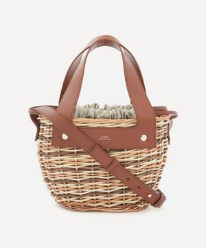 Colette Woven Wicker Bag