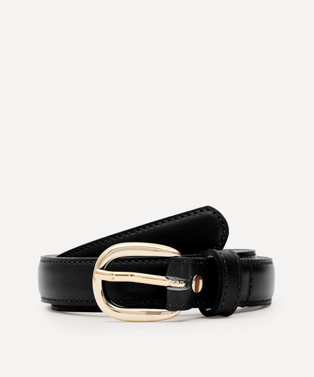 A.P.C. - Rosette Leather Belt