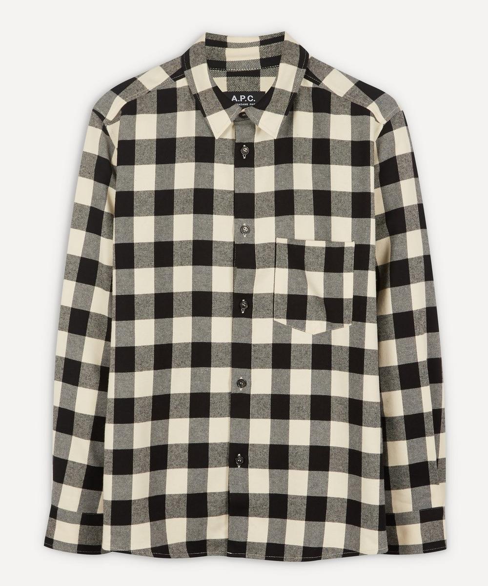 A.P.C. - John Checked Twill Overshirt