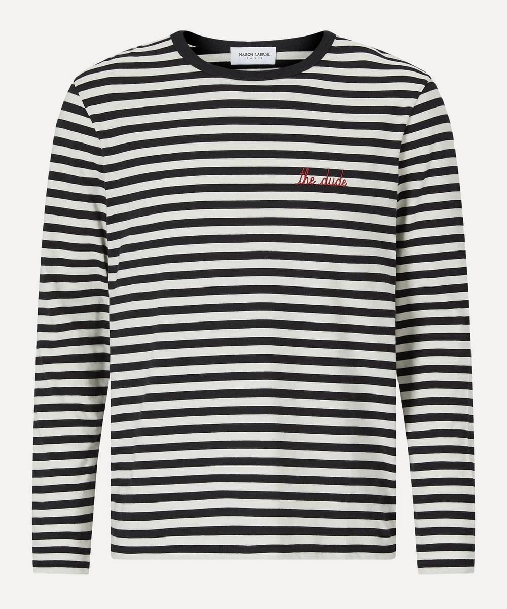 Maison Labiche - Exclusive Dude Striped Long-Sleeve T-Shirt