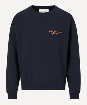 Not Red Wine Sweater