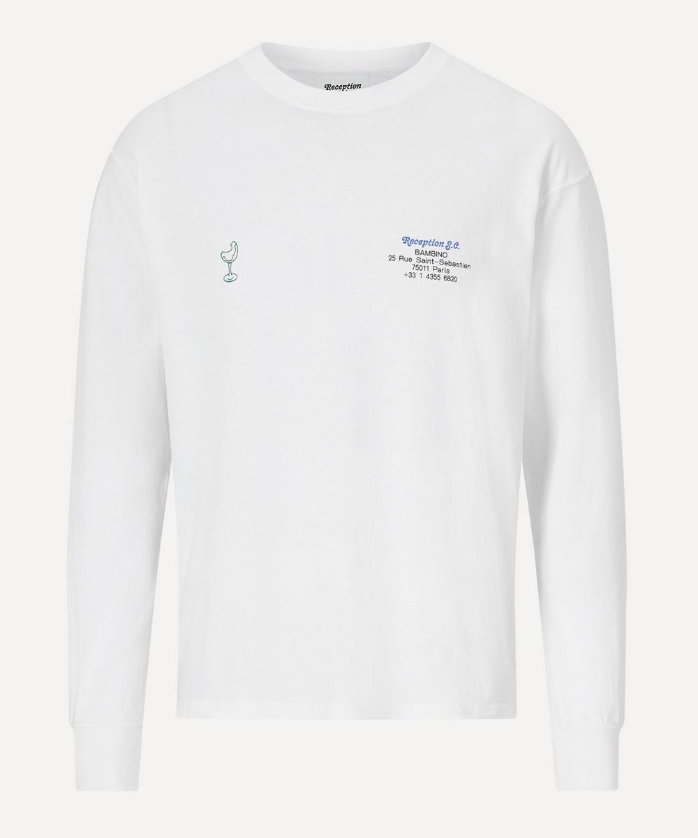 Reception - Bambino Cigarette Long-Sleeve T-Shirt