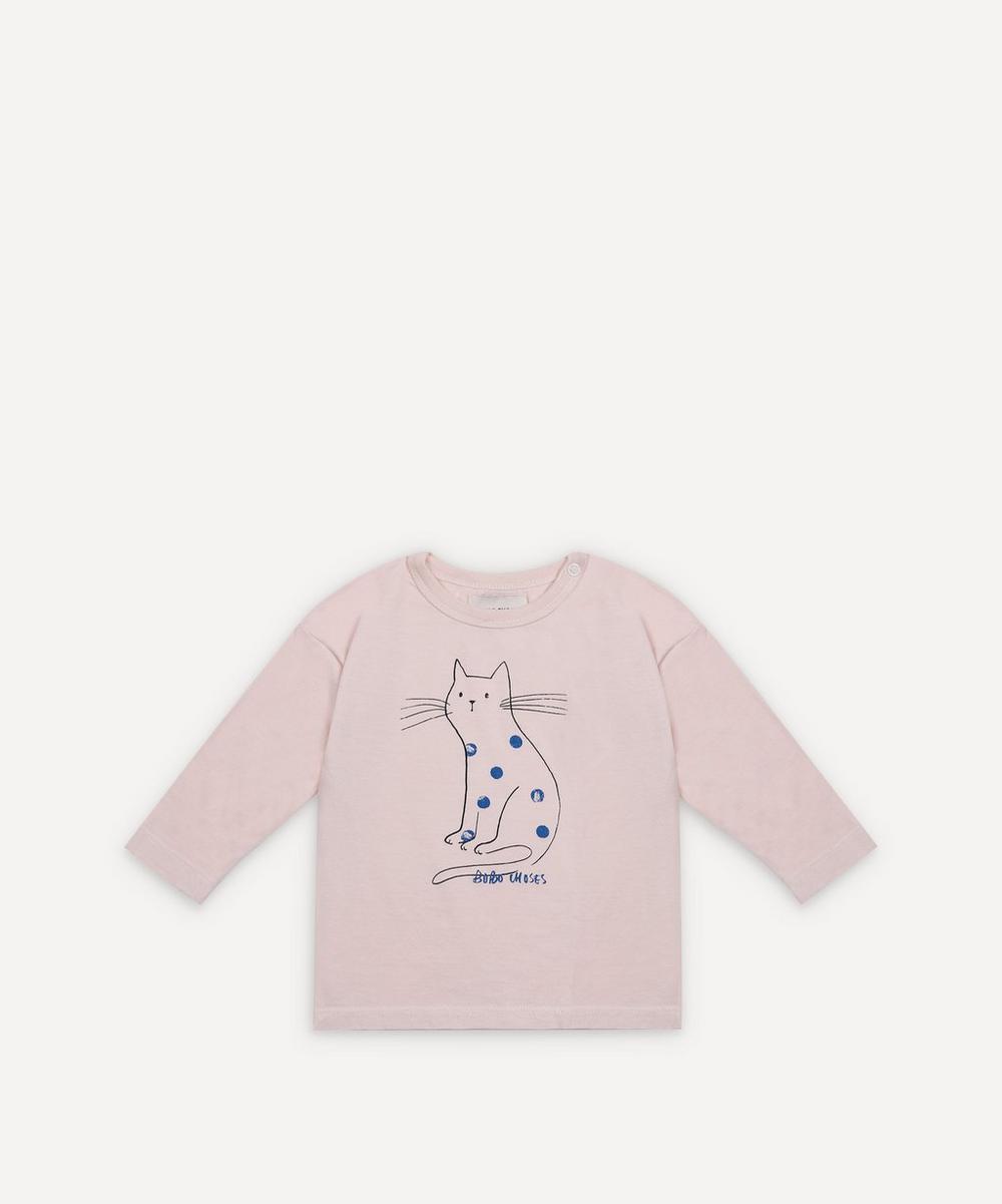 Bobo Choses - Cat Long-Sleeve T-Shirt 3-24 Months
