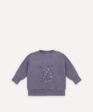 Cat Sweatshirt 3-24 Months
