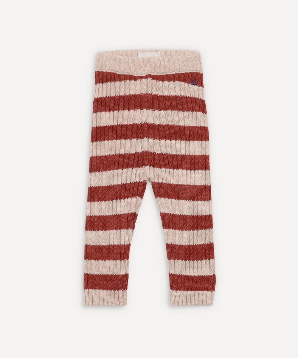 Bobo Choses - Striped Knitted Leggings 3-24 Months