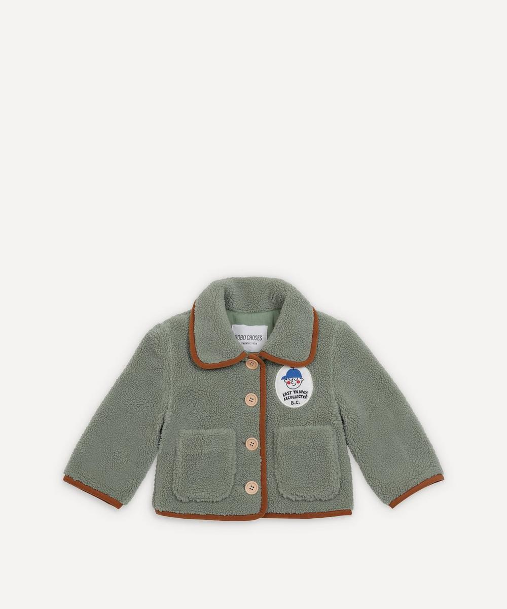 Bobo Choses - Boy Patch Sheepskin Jacket 3-24 Months