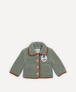 Boy Patch Sheepskin Jacket 3-24 Months