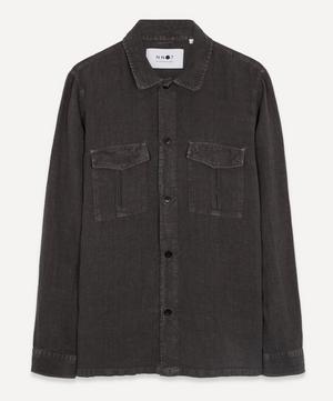 Berner 1235 Linen Overshirt
