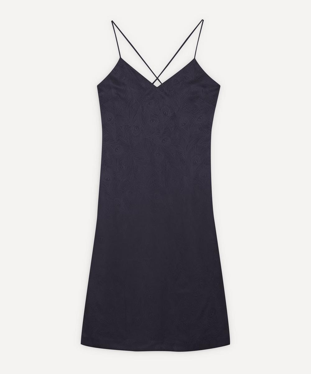 Liberty - Hera Silk Jacquard Long Chemise