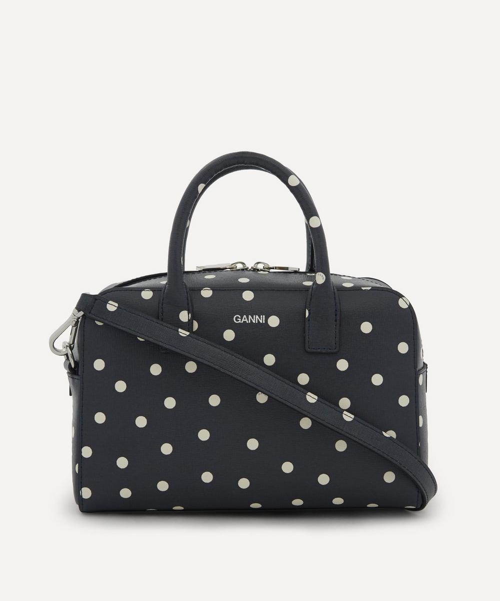 Ganni - Textured Leather Handbag