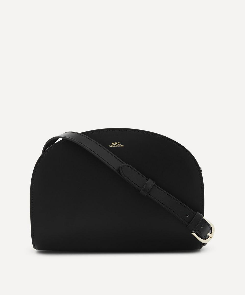 A.P.C. - Leather Demi-Lune Bag