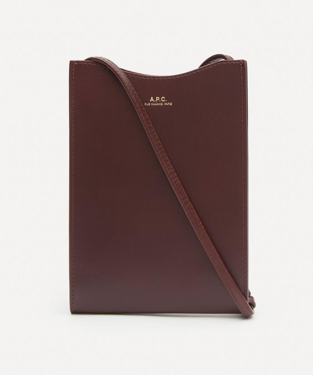 A.P.C. - Jamie Leather Neck Pouch