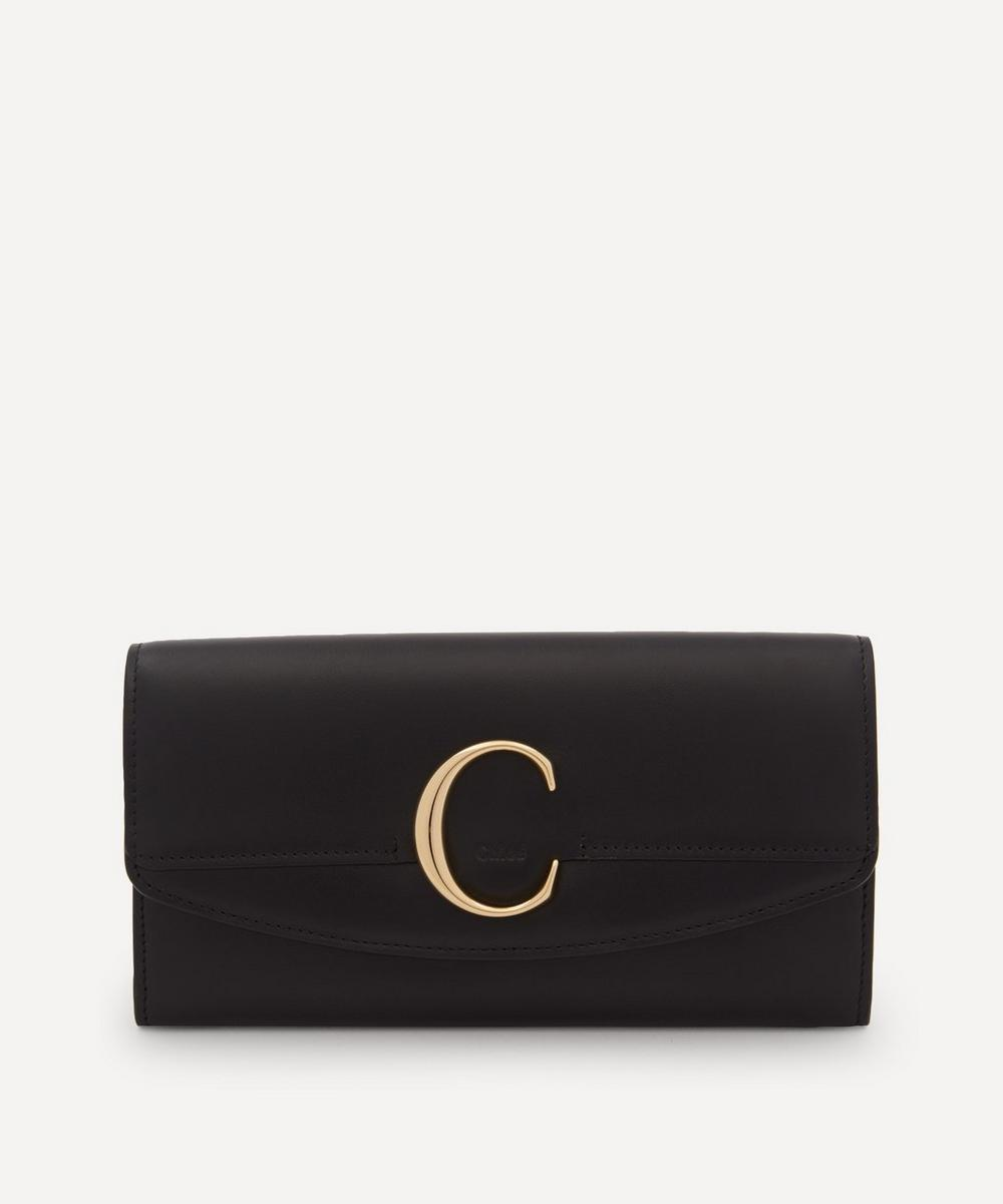 Chloé - Chloé C Long Leather Wallet image number 0