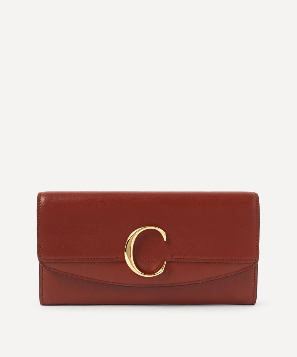 Chloé - Chloé C Long Leather Wallet