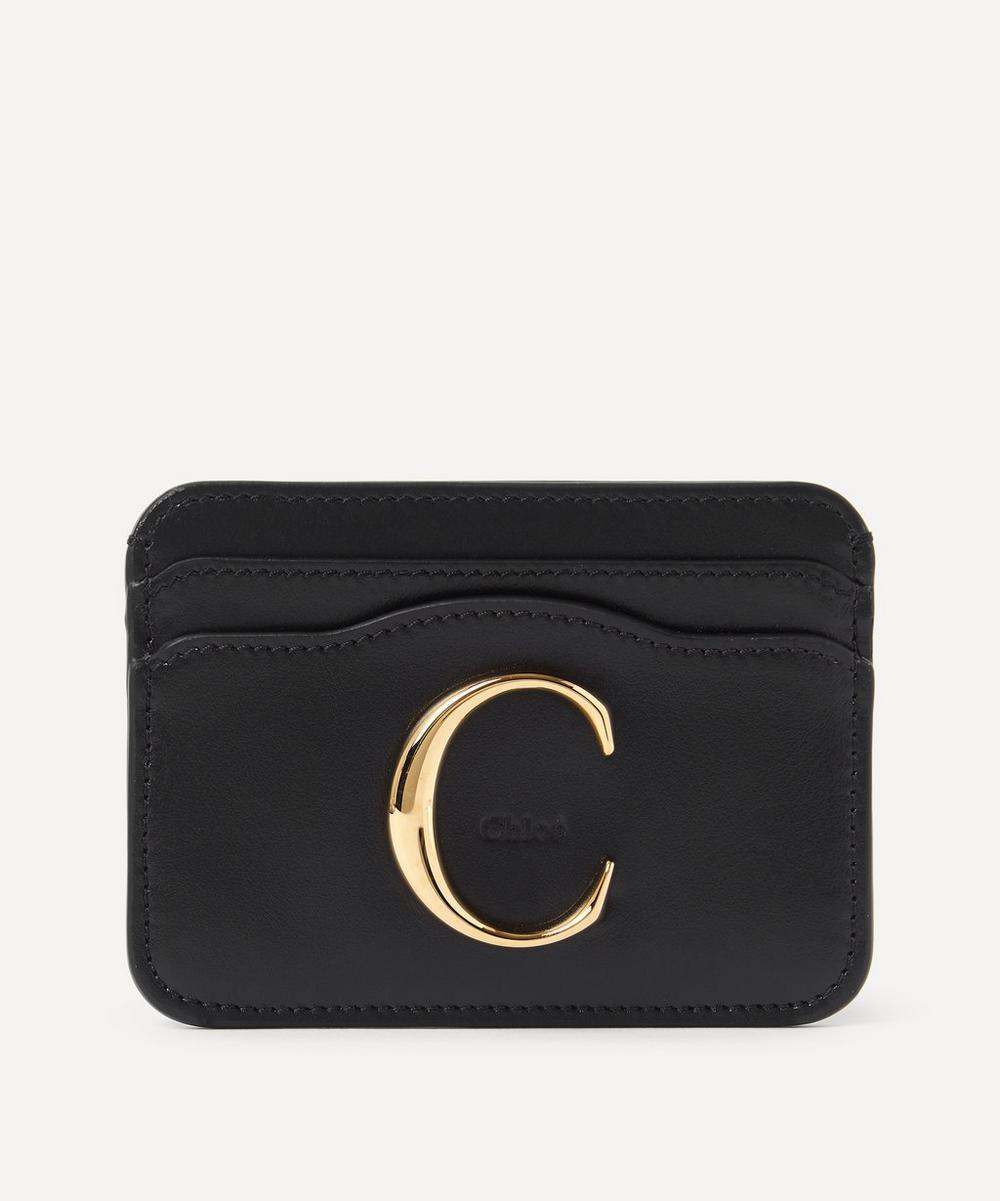 Chloé - Chloé C Leather Card Holder