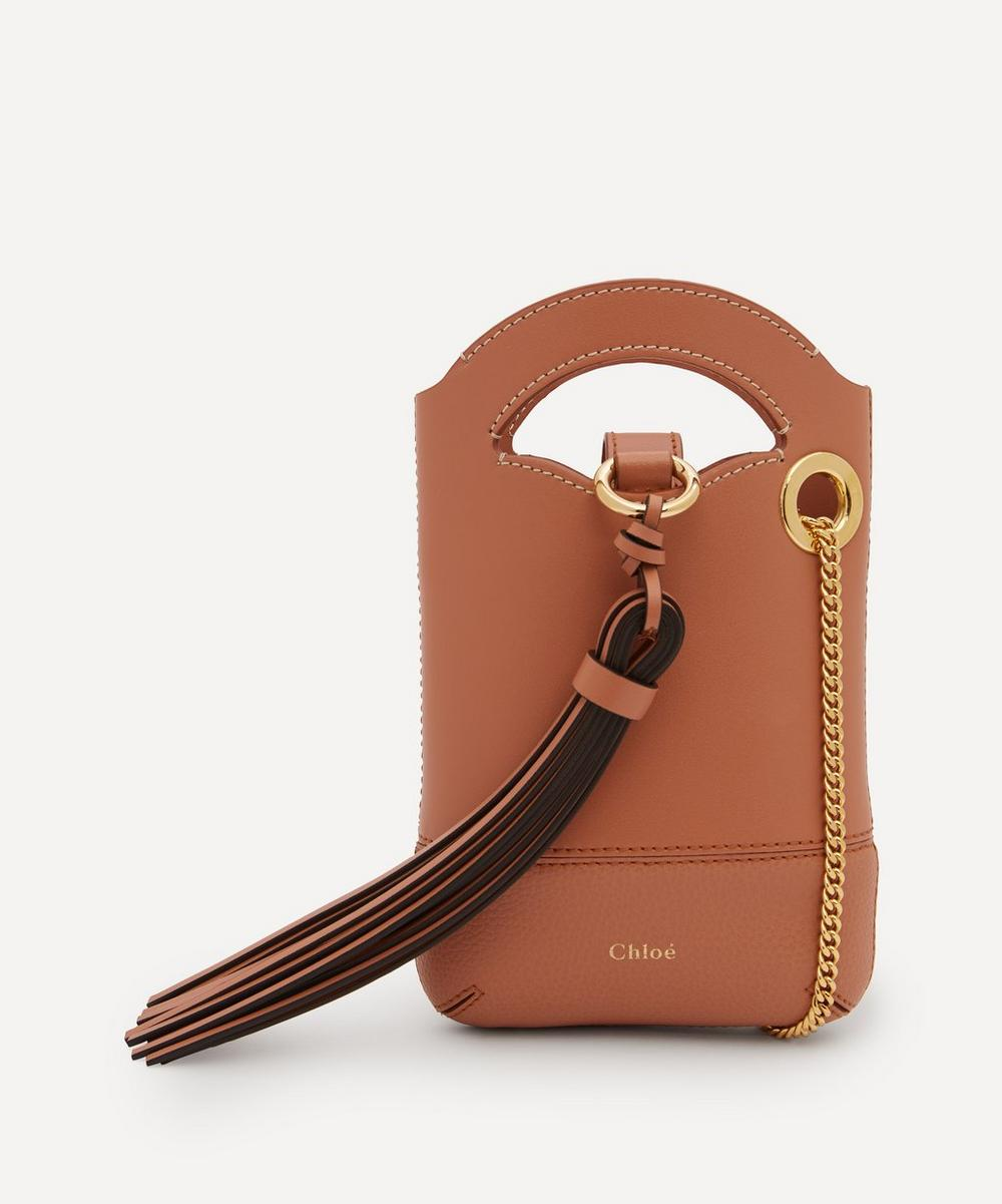 Chloé - Walden Leather Phone Pouch
