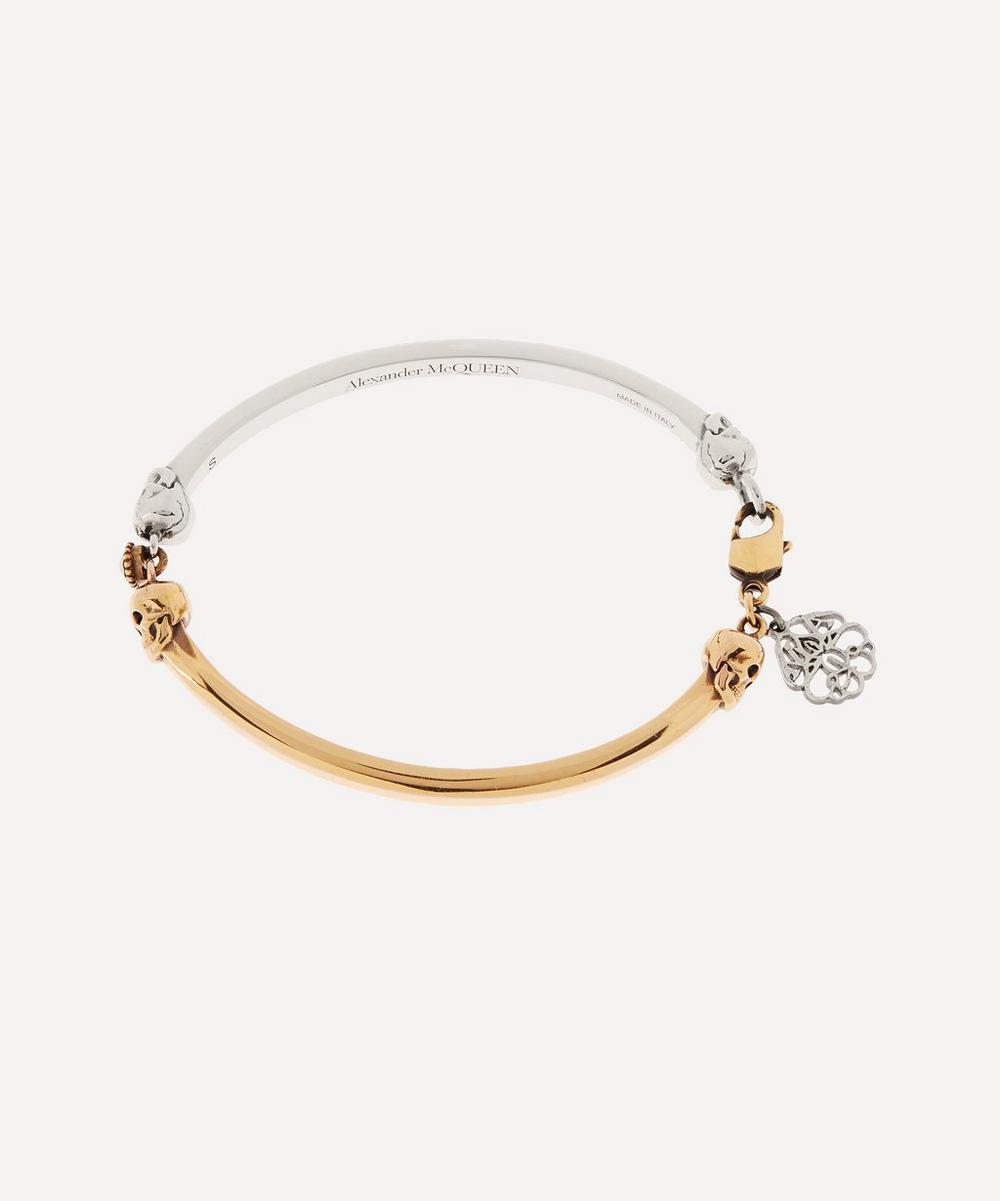 Alexander McQueen - Two-Tone Skull Bracelet