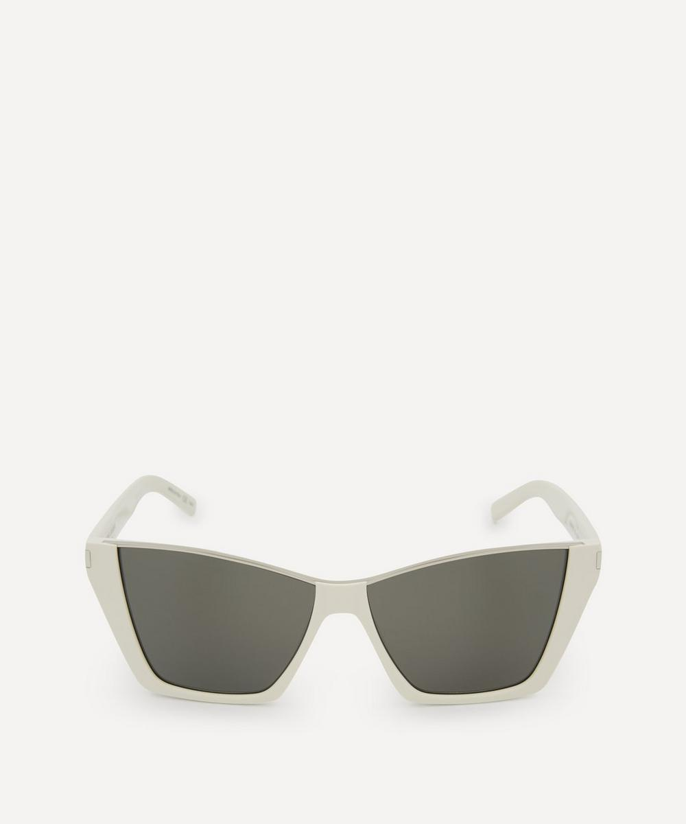 Saint Laurent - Kate Sharp Cat-Eye Acetate Sunglasses