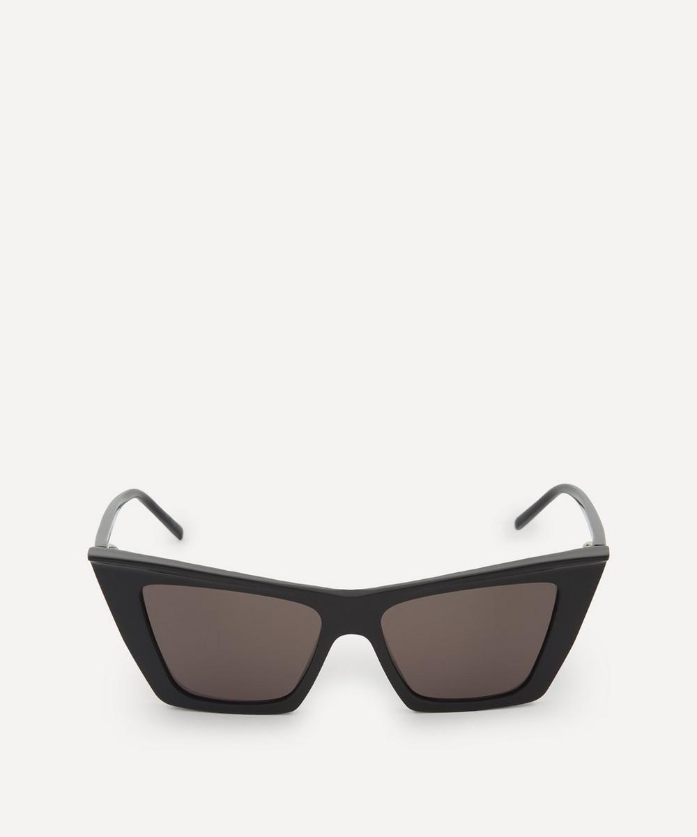 Saint Laurent - Acetate Angled Cat-Eye Sunglasses