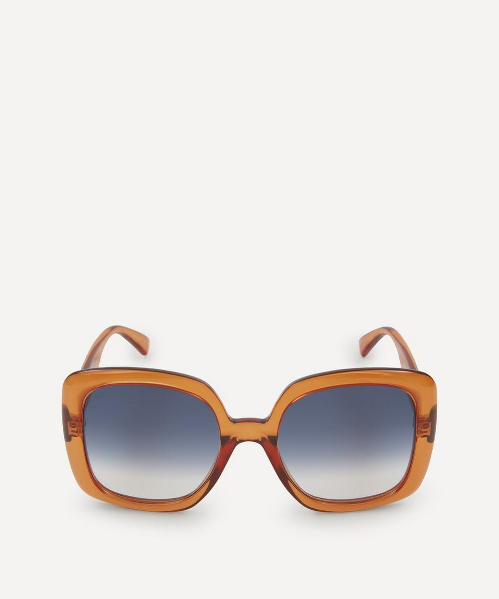 Gucci - Oversized Square Acetate Sunglasses