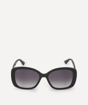 Oversized Acetate Butterfly Sunglasses