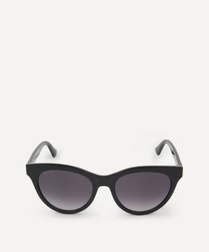 Classic Acetate Logo Sunglasses
