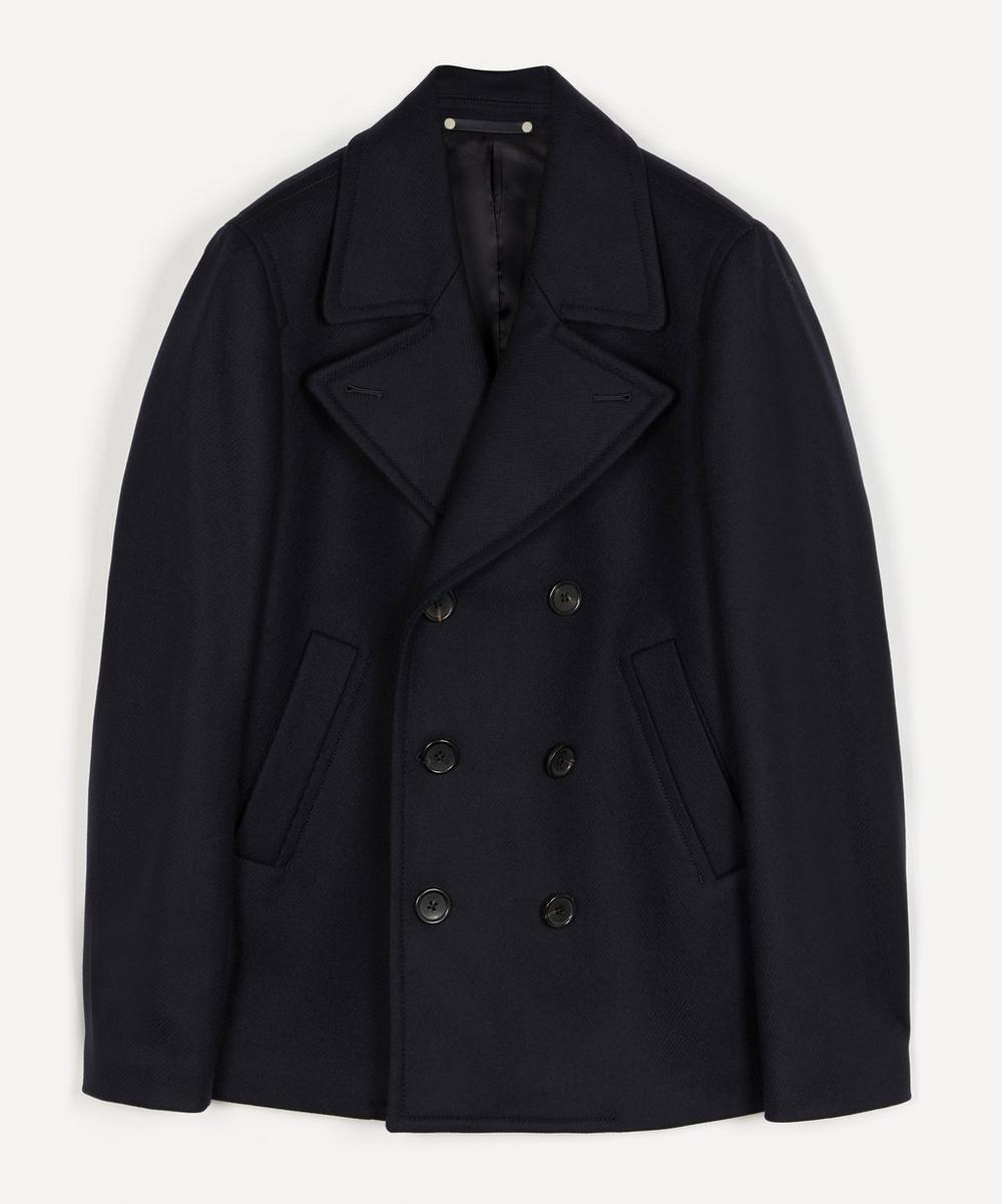 PS Paul Smith - Double-Breasted Wool-blend Pea Coat