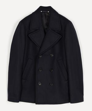 Double-Breasted Wool-blend Pea Coat