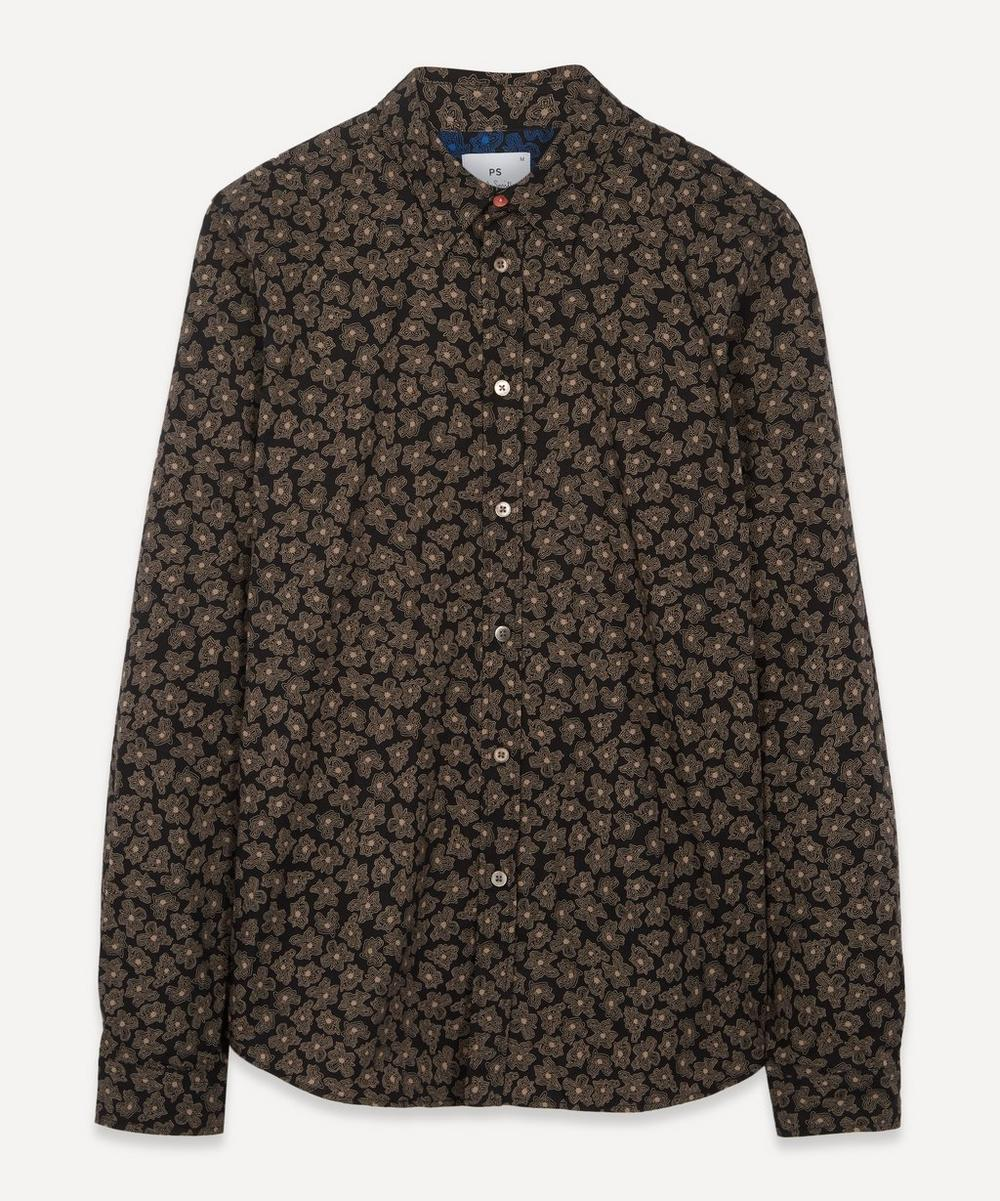 PS Paul Smith - Scribble Floral Print Shirt